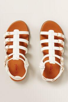 Gladiator Sandals  WHITE  hi-res