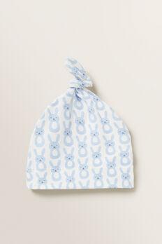 Bunny Knot Hat  POWDER BLUE  hi-res