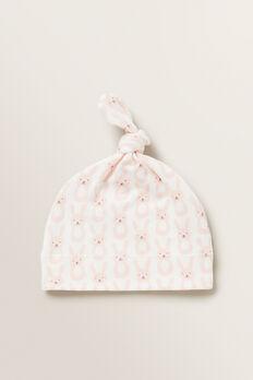 Bunny Knot Hat  APRICOT  hi-res