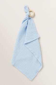 Muslin Comforter  POWDER BLUE  hi-res