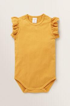 Frill Bodysuit  BUTTERSCOTCH  hi-res