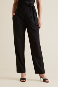 Paperbag Trouser  BLACK  hi-res