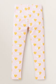 Heart Leggings  ICE PINK  hi-res