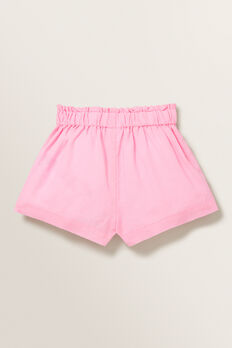 Linen Shorts  PINK BLUSH  hi-res