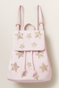 Sequin Star Backpack  ICE PINK  hi-res