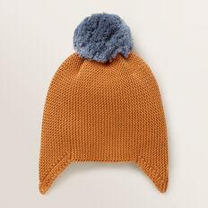 Knitted Beanie  NUTMEG  hi-res