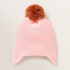 Knitted Beanie  BUBBLEGUM  hi-res