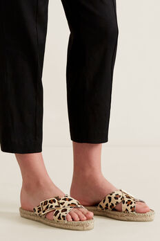 Reese Cross Over Espadrille  OCELOT  hi-res