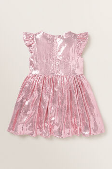 Sequin Dress  ICE PINK  hi-res