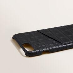 Pocket Phone Case 6/7/8  BLACK CROC  hi-res