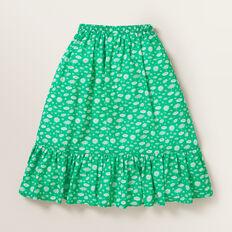 Daisy Wrap Skirt  APPLE GREEN  hi-res