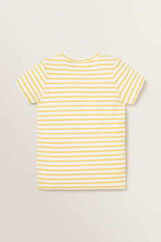 Rib Stripe Tee  SUNFLOWER  hi-res