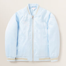 Unicorn Bomber Jacket  BABY BLUE  hi-res