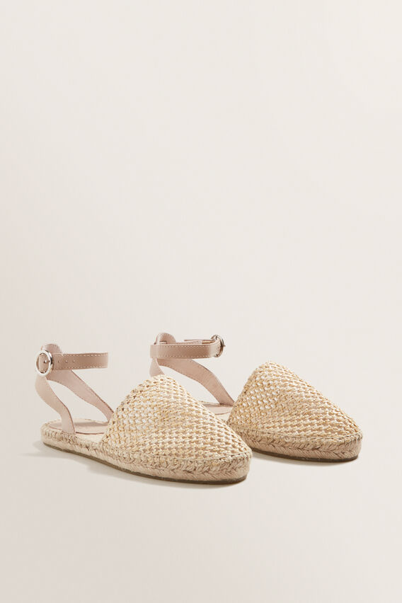 Emmie Tie Up Espadrille  NATURAL  hi-res