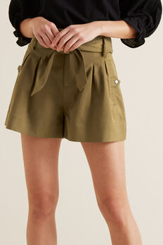 Tab Pocket Short  RICH MOSS  hi-res