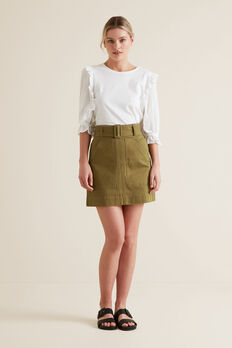 Utility Skirt  RICH MOSS  hi-res