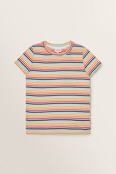 Multi Stripe Tee  MULTI  hi-res
