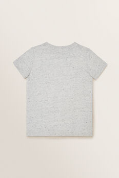 Novelty Fin Tee  CLOUDY MARLE  hi-res