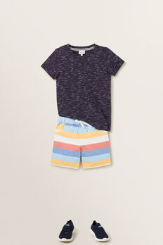 Multi Stripe Shorts  MULTI  hi-res
