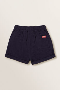 Cheesecloth Short  MIDNIGHT BLUE  hi-res