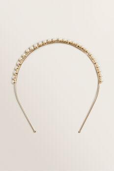 Pearl Headband  GOLD  hi-res