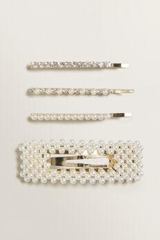 Mixed Diamante Pearl Pack  PEARL  hi-res