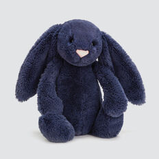 Jellycat Medium Bashful Bunny  NAVY  hi-res