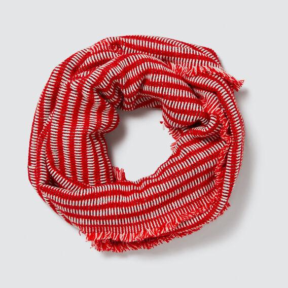 Knit Snood  RED MULTI  hi-res