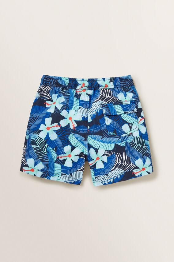 Boys Mini-Me Tropical Boardshort  MIDNIGHT BLUE  hi-res