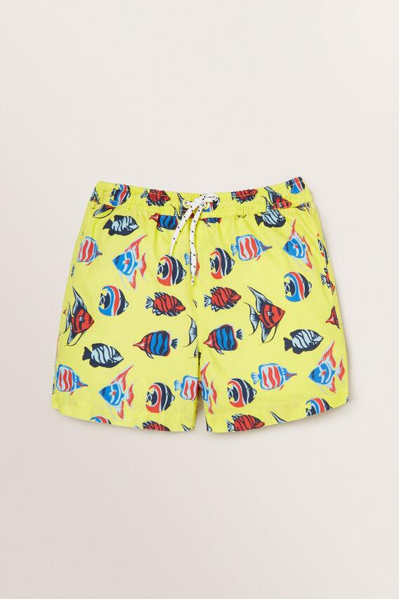 Boys Mini-Me Fish Boardshort  STARFISH  hi-res