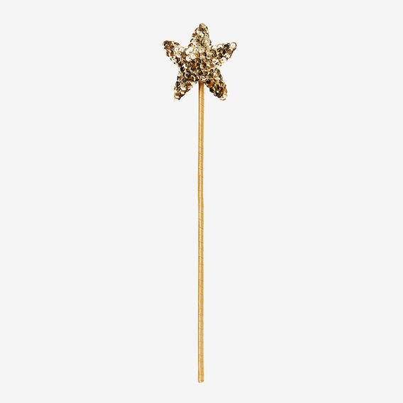 Star Sequin Wand  GOLD  hi-res