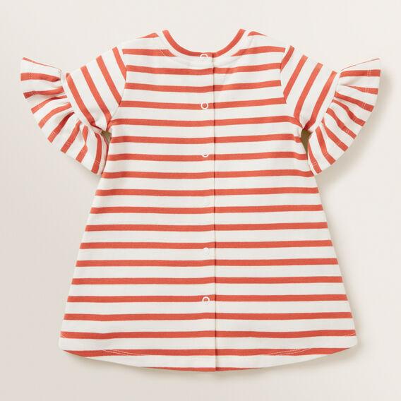 Stripe Jersey Dress  GINGER SPICE  hi-res