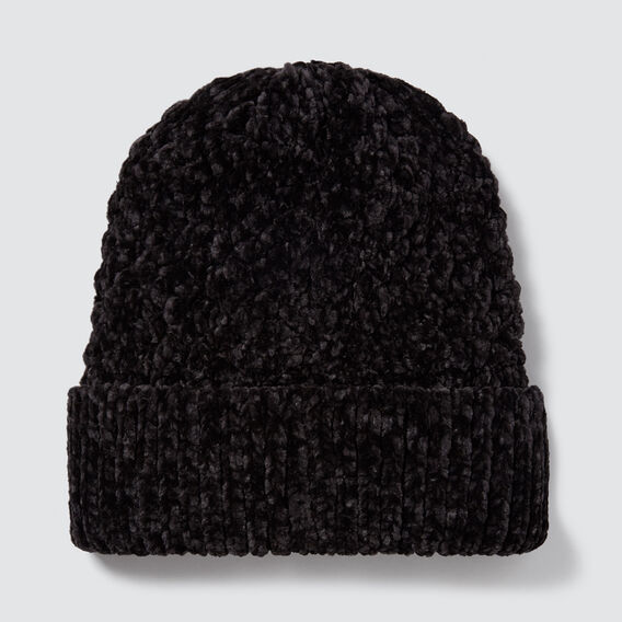 Knit Beanie  BLACK  hi-res