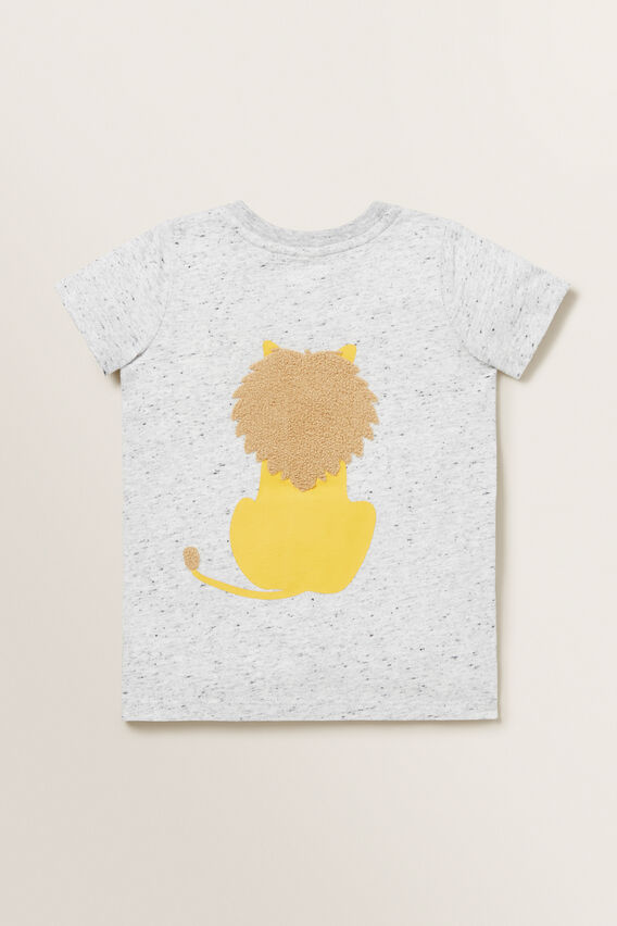 Lion Tee  CLOUDY MARLE  hi-res