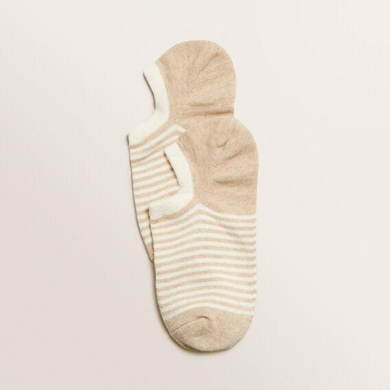 Sneaker Sock  OAT STRIPE  hi-res