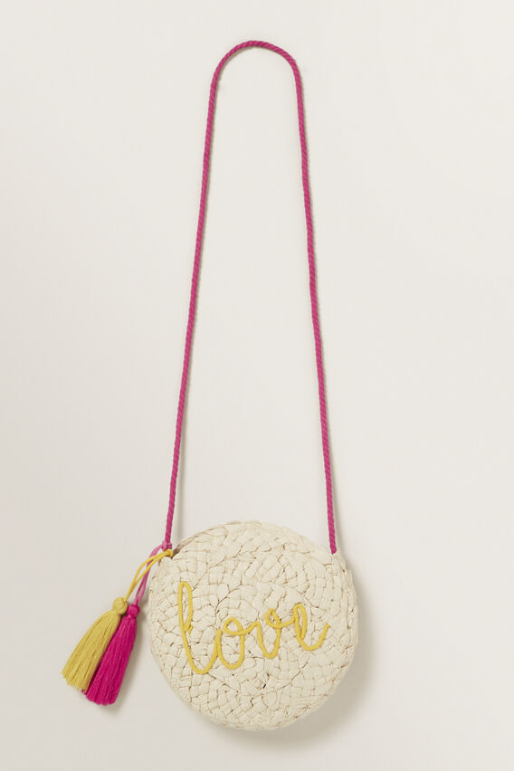 Woven Love Bag  FUCHSIA  hi-res