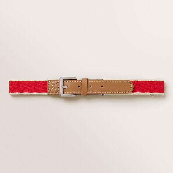 Woven Belt  RED  hi-res
