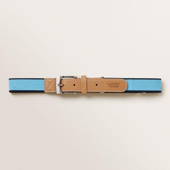 Woven Belt  BLUE  hi-res