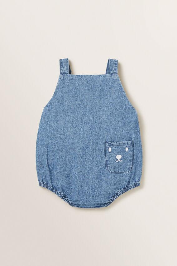 Denim Pocket Onesie  DENIM  hi-res