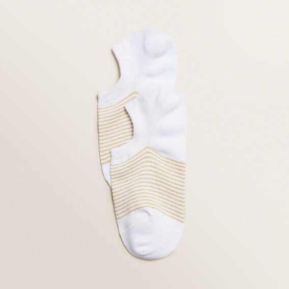 Sneaker Sock  GOLD STRIPE  hi-res
