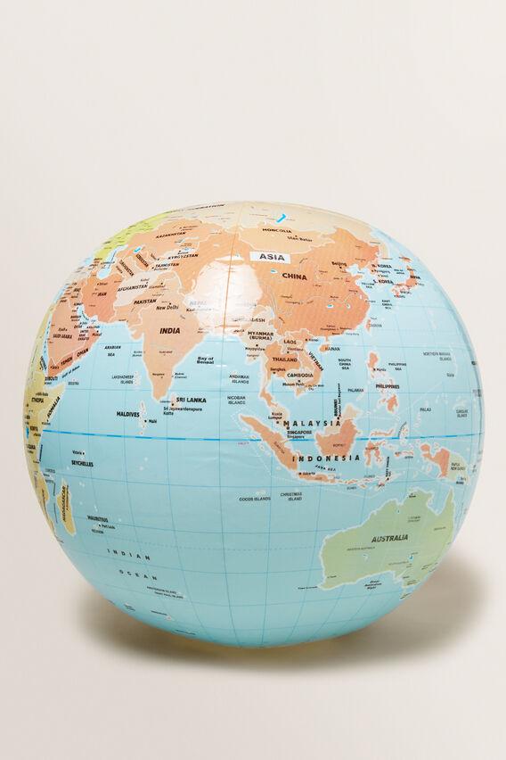 World Globe Inflatable Ball  MULTI  hi-res