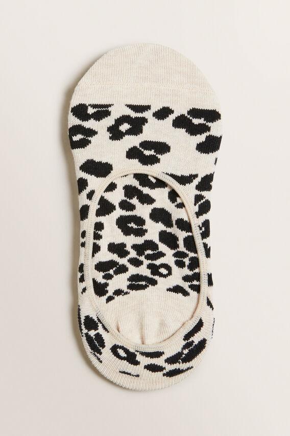 No Show Sock  LEOPARD  hi-res
