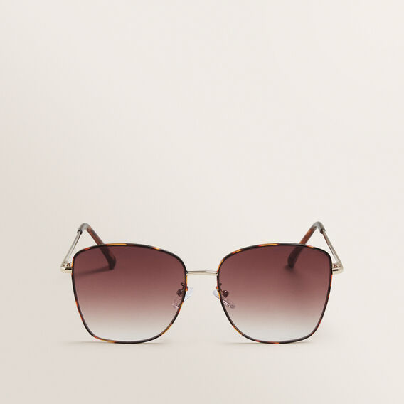Louise Metal Sunglasses  TORT  hi-res