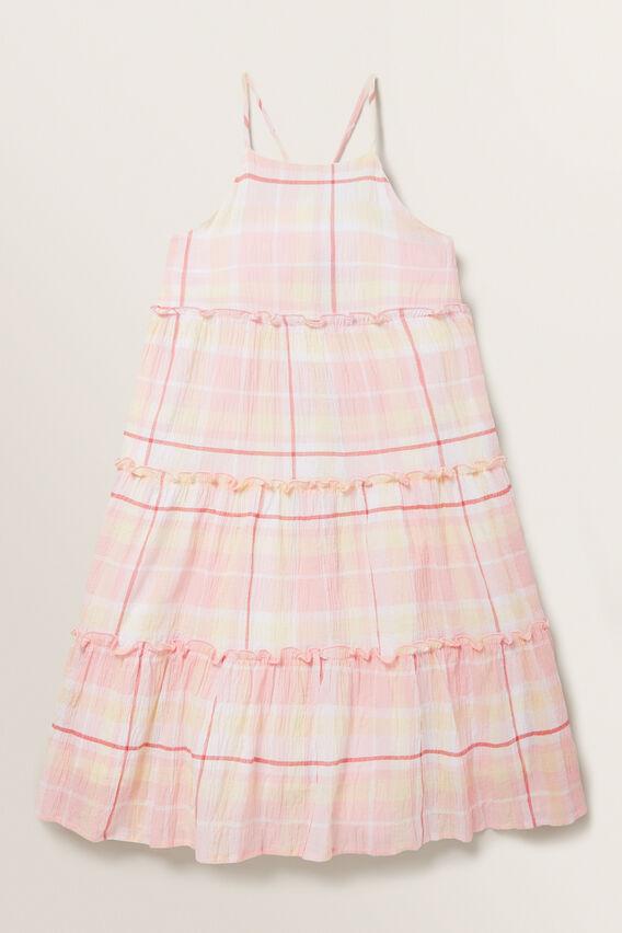 Check Midi Dress  MULTI  hi-res