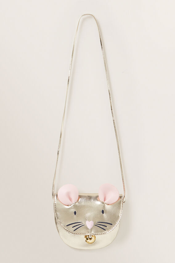 Mouse Purse  GOLD  hi-res