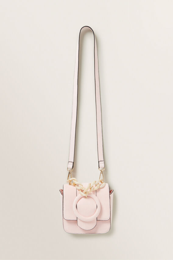 Mini Tort Flap Bag  DUSTY ROSE  hi-res