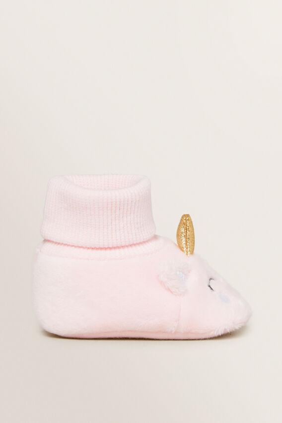 Unicorn Booties  PINK  hi-res