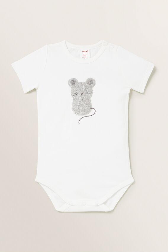 Mouse Bodysuit  BUBBLEGUM  hi-res