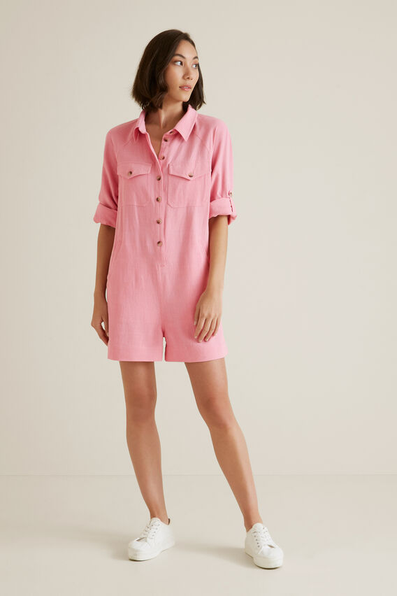 Resort Playsuit  WATERMELON PINK  hi-res