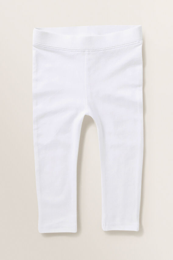 Basic Leggings  WHITE  hi-res